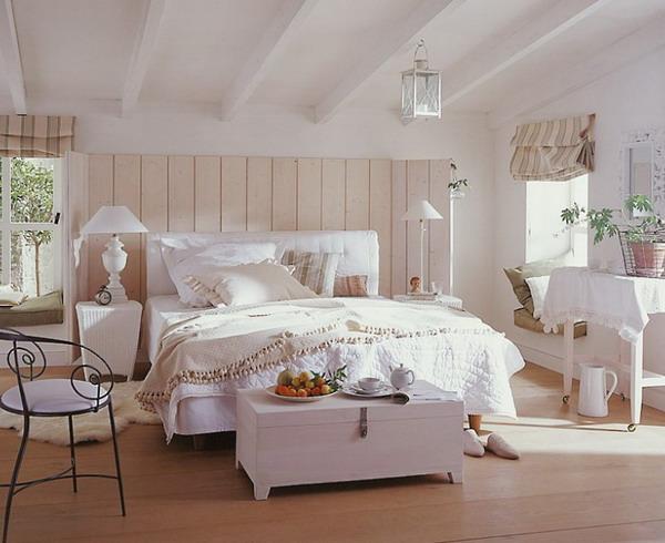 Основоположником здоровой атмосферы в спальне станет мебель из натуральных материалов