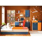 Стенка детская 5, ТВИСТ, горка, набор мебели для детской,  (TWIST), BRW ( БРВ ), РБ