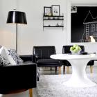 Черно-белый мир: выбираем двухцветный дизайн интерьера