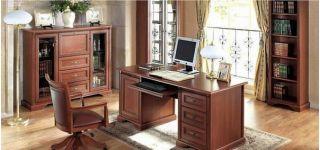Набор мебели для кабинета, кабинет СТИЛИУС (STYLIUS), BRW ( БРВ ), РБ