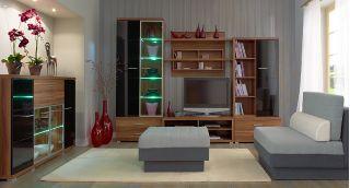 Набор мебели METIS-2 для гостиной, гостиная, стенка, горка  ( МЕТИС ), BRW ( БРВ ), РБ