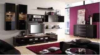 Набор мебели JANG-5 для гостиной, стенка, горка ( ЯНГ ), BRW ( БРВ ), РБ