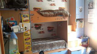 Продам кровать детскую двухуровневую БУ в Минске
