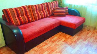 Продам угловой диван на пружинном блоке БУ в Минске