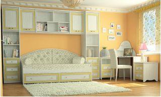 Стрекоза - презентация элитной мебели для детской от компании Софтформ