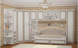 Стенка в детскую комнату 13, СТРЕКОЗА, Софтформ (Softform), Беларусь