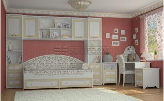 Набор мебели в подростковую комнату 5, СТРЕКОЗА, Софтформ (Softform), Беларусь