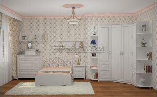 Комплект мебели для подростка 8, СТРЕКОЗА, Софтформ (Softform), Беларусь