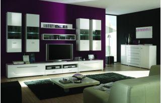Набор мебели JANG-7 для гостиной, стенка, горка ( ЯНГ ), BRW ( БРВ ), РБ