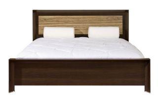 Кровать двуспальная LOZ 160, СОРРЕНТО ( SORRENTO ), BRW ( БРВ ), РБ, ( 2110*1710*950 )