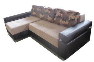 Угловой диван-кровать Кватро 248, Виктория-мебель, Беларусь
