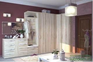 Набор мебели для прихожей 2, МАРТА прихожая, Алмаз (Любимый дом), Россия