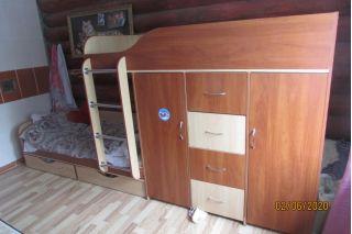 Продам кровать двухъярусную БУ в Быхове