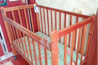 Продам детскую кроватку БУ в Минске