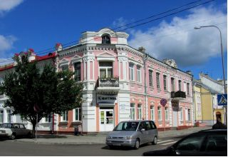 Магазин Лагуна в Пинске на Заслонова, AMI Мебель (Торговый дом Лагуна), Беларусь