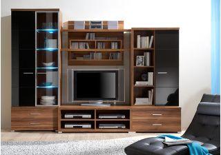 Набор мебели METIS-1 для гостиной, гостиная, стенка, горка  ( МЕТИС ), BRW ( БРВ ), РБ