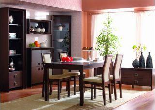 Набор мебели для столовой СОРРЕНТО, столовая ( SORRENTO ), BRW ( БРВ ), РБ