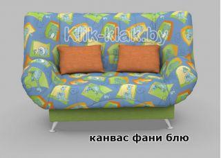 Диван-кровать клик-кляк Канвас Фани Блю, Стрекоза, Беларусь