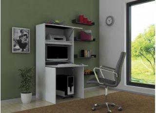 Компьютерный стол «Бэйсик Комбо», серый, Алмаз (Любимый дом), Россия