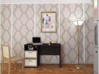 Стол письменный однотумбовый, венге, Алмаз (Любимый дом), Россия
