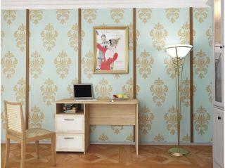 Стол письменный однотумбовый, бук, Алмаз (Любимый дом), Россия