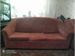 Продам диван и кресла БУ в Бобруйске