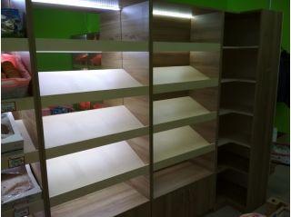 Продаю стеллажи, торговое оборудование БУ в Минске