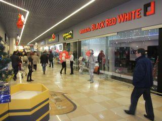 Фирменный магазин Black Red White в Бресте на Варшавском шоссе