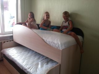 Продам кровать для двоих детей