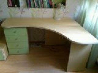 Продам мебель для детской бу - двухъярусная кровать