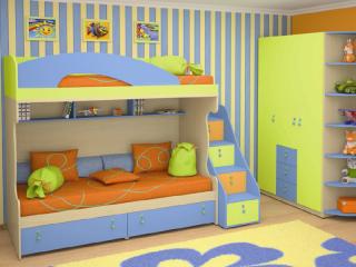Детская мебель МИА - презентация коллекции