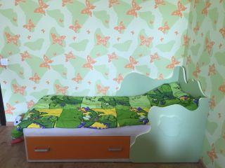Продаю кроватку детскую с матрасом БУ в Минске