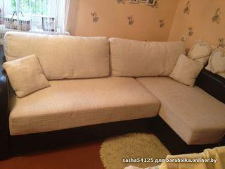 Продам угловой диван-кровать БУ в Минске
