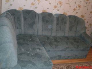 Продам угловой диван и кресло БУ в Заславле
