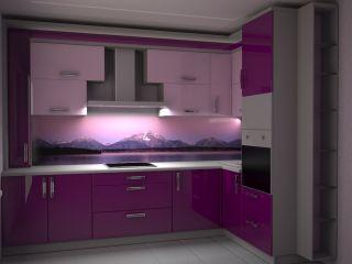 Продам фиолетовую кухню в Минске