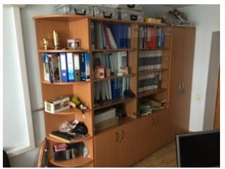 Продаем офисную мебель бу - столы, шкафы, тумбы