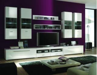 Набор мебели JANG-6 для гостиной, стенка, горка ( ЯНГ ), BRW ( БРВ ), РБ