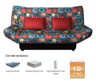 Диван-кровать Жак TFK Отоман Мумбо А10, Сонит (Sonit), Беларусь