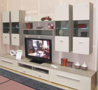 Набор мебели JANG-8 для гостиной, стенка, горка ( ЯНГ ), BRW ( БРВ ), РБ