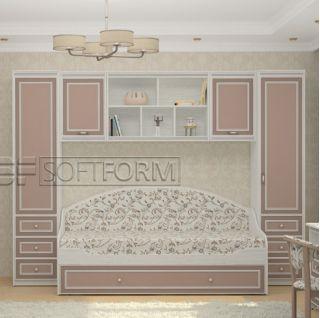 Детская стенка 19, СТРЕКОЗА, Софтформ (Softform), Беларусь