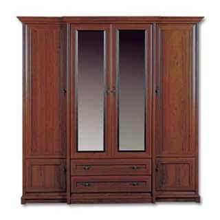 Шкаф с зеркалом ESZF-4d2s, КЕНТ (KENT), BRW ( БРВ ), РБ, ( 2270*655*2250 )
