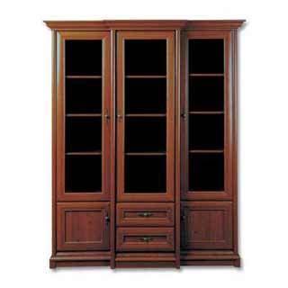 Шкаф с витриной EREG-3w2s, КЕНТ (KENT), BRW ( БРВ ), РБ