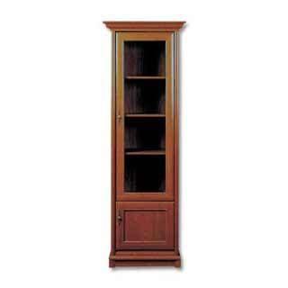 Шкаф с витриной EWIT-1dP, КЕНТ (KENT), BRW ( БРВ ), РБ