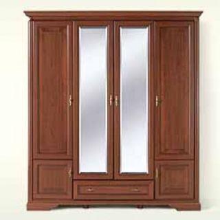Шкаф с зеркалом NSZF 4d1s, СТИЛИУС (STYLIUS), BRW ( БРВ ), РБ