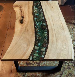 Продам стол-река из массива дуба в Щучине