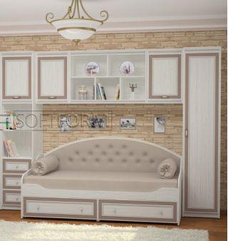 Набор мебели в детскую 1, СТРЕКОЗА, Софтформ (Softform), Беларусь