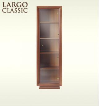 Шкаф-витрина REG1W-20-6, LARGO CLASSIK (Ларго Классик), BRW (БРВ), РБ