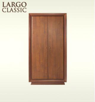 Шкаф для одежды SZF2D-20-10, LARGO CLASSIK (Ларго Классик), BRW (БРВ), РБ