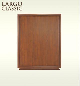 Шкаф для одежды SZF3D-21-16 , LARGO CLASSIK (Ларго Классик), BRW (БРВ), РБ
