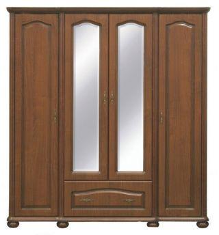 Шкаф с зеркалом 190, НАТАЛИЯ (NATALIA), BRW ( БРВ ), РБ